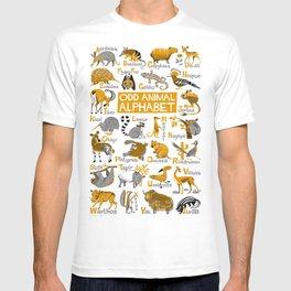 Odd Animal Alphabet T-shirt
