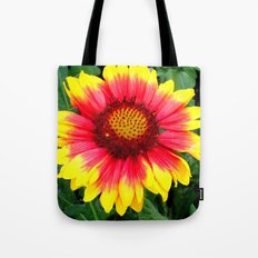 Sunset Blossom Tote Bag