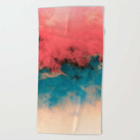 Summer Simmer Beach Towel
