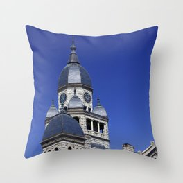 The Courthouse Throw Pillow