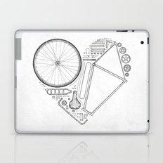 Love Bike (Grey) Laptop & iPad Skin