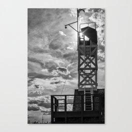 Leuty Lifeguard Station Canvas Print