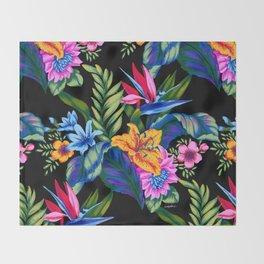 Jungle Vibe Throw Blanket