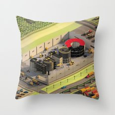 Factory Throw Pillow