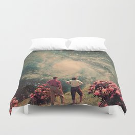 There will be Light in the End Duvet Cover
