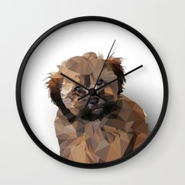 Cocoa, the puppy Wall Clock