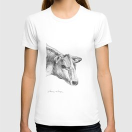 Cow Drawing T-shirt