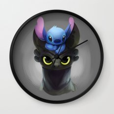 Best Pals Wall Clock