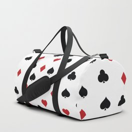 Hearts, clowers, diamonds and spades Duffle Bag