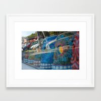 austin Framed Art Prints featuring Austin by Kimothy Simpson