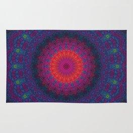 Lacy Mandala Rug
