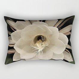 Night Blooming Cereus Rectangular Pillow