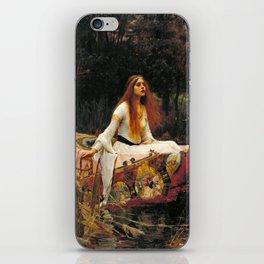 The Lady of Shalott - John William Waterhouse iPhone Skin
