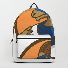 superhero capricorn Backpack