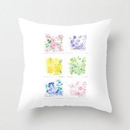 Botanical Impressions: ROPER PARK STUDY Throw Pillow