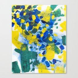 Pool Leaves Canvas Print