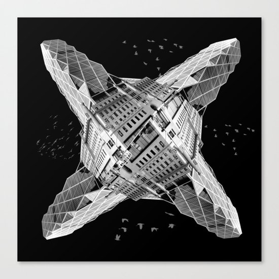kaleidoscope  architecture Canvas Print