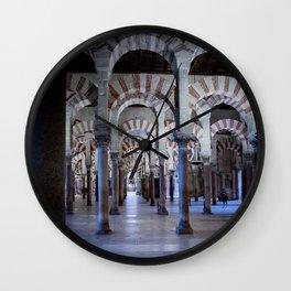 Mosque of Cordoba, Spain Wall Clock