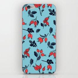 Red viburnum berries iPhone Skin