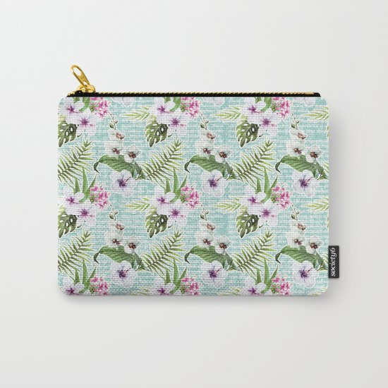 Tropical Summer #12 Carry-All Pouch