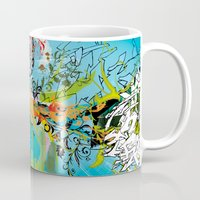 vegeta Mugs featuring Vegeta by Latiber