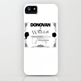 Donovan & Wells iPhone Case