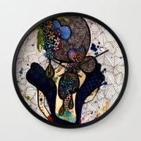 dorothy Wall Clocks featuring Dorothy by Luciana Pupo