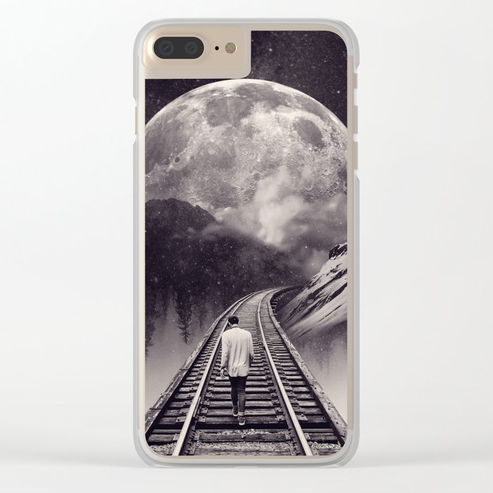 Whimsical Journey Clear iPhone Case