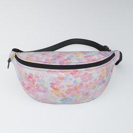 Artemis 9 Berry Blossom Watercolo Flowers Fanny Pack