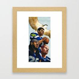 Seahawks Framed Art Print
