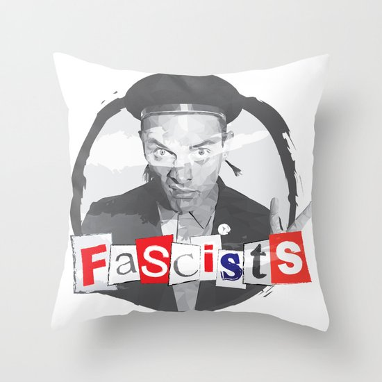 FASCISTS Throw Pillow