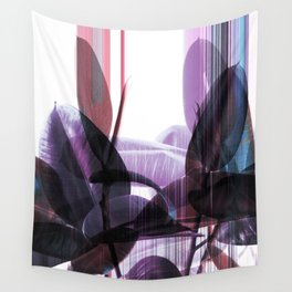 Tropical Glitches Wall Tapestry