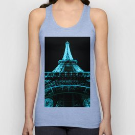 Paris Eiffel Tower Unisex Tank Top