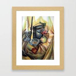 Life and Fruit Framed Art Print