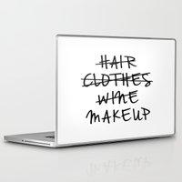 makeup Laptop & iPad Skins featuring Makeup by I Love Decor