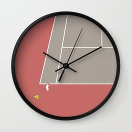 TENNIS SOCKS - The Baumer Meltdown Wall Clock