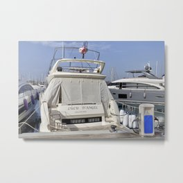 Prestige 550 Powerboat Metal Print