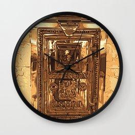 Postal Wall Clock