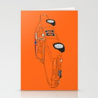 general Stationery Cards featuring General Lee by Martin Lucas
