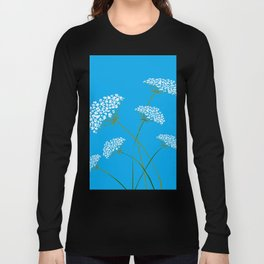 Queen Anne's Lace a Kentucky Wild Flower Long Sleeve T-shirt