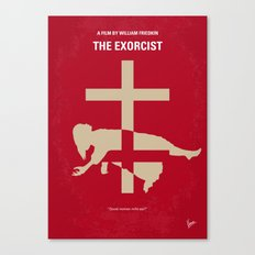 No666 My The Exorcist minimal movie poster Canvas Print
