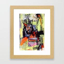 KINGDUNCE Framed Art Print