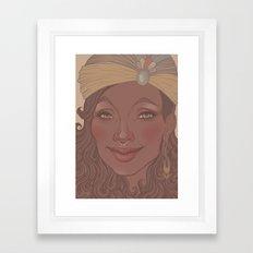 Smile 2 Framed Art Print