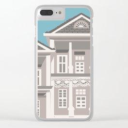 Suburban Clear iPhone Case