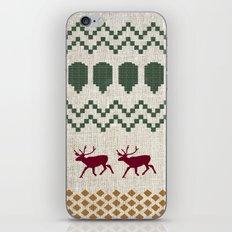 Holiday Sweater iPhone & iPod Skin