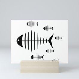 Fish Food Mini Art Print
