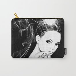 Smoke Girl Carry-All Pouch