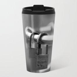 Love padlocks. Travel Mug