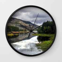 lakeside in norway. Wall Clock