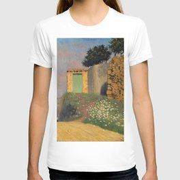 """Félix Vallotton """"Un chemin à Cagnes ( A path to Cagnes)"""" T-shirt"""